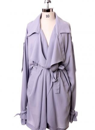 * loose trench/dress