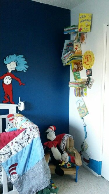 My Dr Seuss nursery!