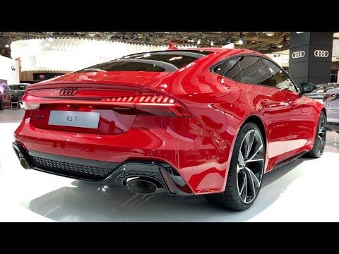 2020 Audi Rs7 Quattro 591hp Sportback Tango Red Metallic In Depth Vide In 2020 Audi Rs7 Audi Audi Rs7 Sportback