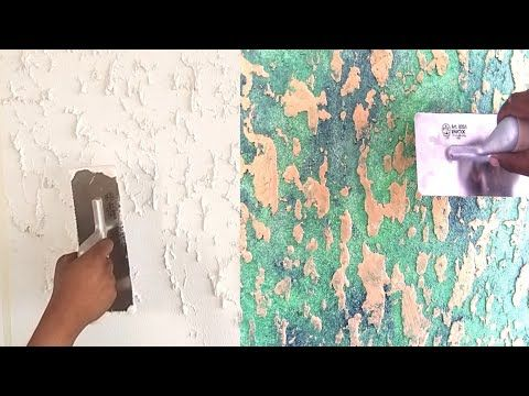 Creating Wall Texture Techniques Asian Paints Apex Createx Youtube Asian Paints Textured Walls Texture