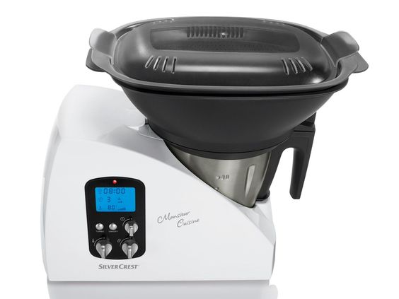 SILVERCREST® Küchenmaschine Monsieur Cuisine SKMH 1100 A1 1 Das - kochen mit küchenmaschine