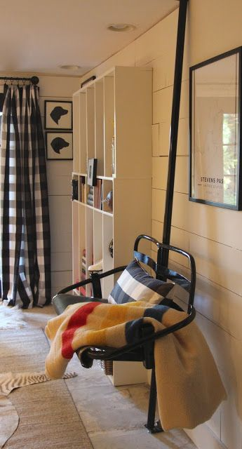 My Sweet Savannah: ~one room challenge reveal~ski lift chair