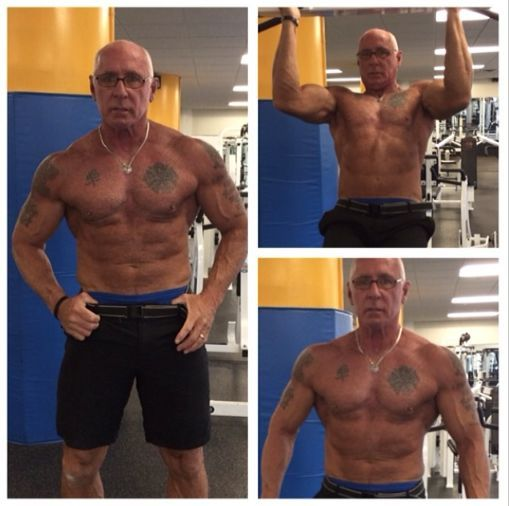 Mature Gay Muscle Men