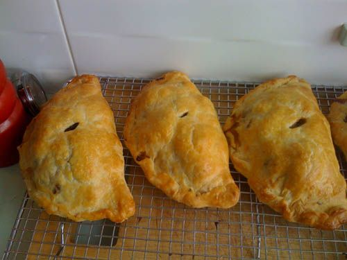 Traditional Cornish Pasty Recipe. I have made these so many times now. The pastry melts in your mouth.  They also freeze really well.