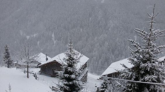 Arabba under the snow