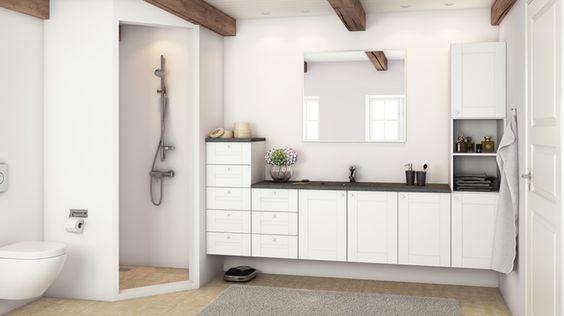 Inspiration til nyt badeværelse   se din nye bad indretning ...