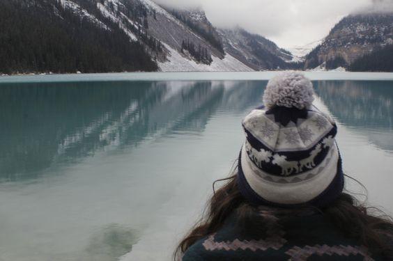 Lake Louise, Banff National Park, Alberta  Pondering. 2015.