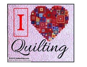 I heart quilting