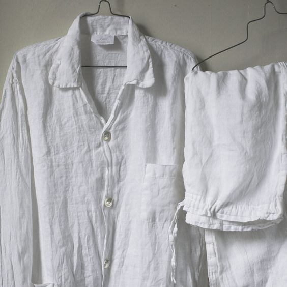 Cote Bastide linen perfect pyjamas