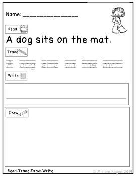 Read Write Draw Phonics
