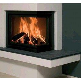 De Kal-fire Heat 62/51 hoek Links of Rechts is een strakke liftdeurhaard. De kachel beschikt over een chamotten binnenwerk en is afgewerkt met een mooi zwart kader. Wanneer u de ruit van de kachel schoon wilt maken kunt u de ruit makkelijk laten kantelen. #Houthaard #Houtkachel #Fireplace #Fireplaces #Kampen #Interieur