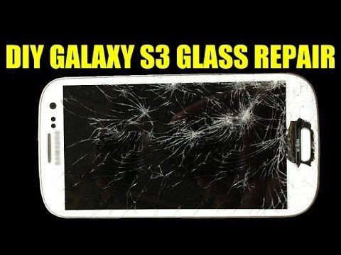 Diy Simple Galaxy S3 Glass Repair Screen Replacement 5 Dollars Cracked Broken Shattered Lcd Youtube Glass Repair Screen Replacement Repair