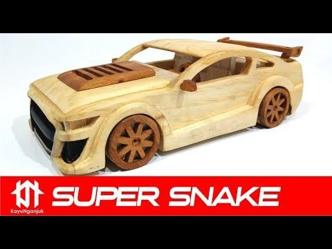 Kayu Nganjuk Youtube Toy Car Wooden Toy Cars Mustang Shelby