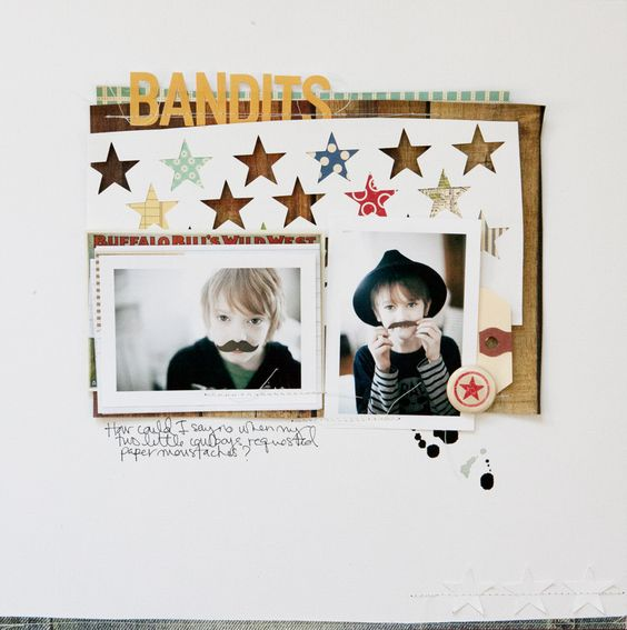 bandits by Marcy Penner: Scrapbook Ideas, Scrapbooking Inspiration, Scrapbook Layouts, Scrapbook Inspiration, Scrapbook Pages Layouts, Scrapbook Layout Ideas, Scrapbooking Ideas, Bandits Marcypenner, Scrapbooking Layouts