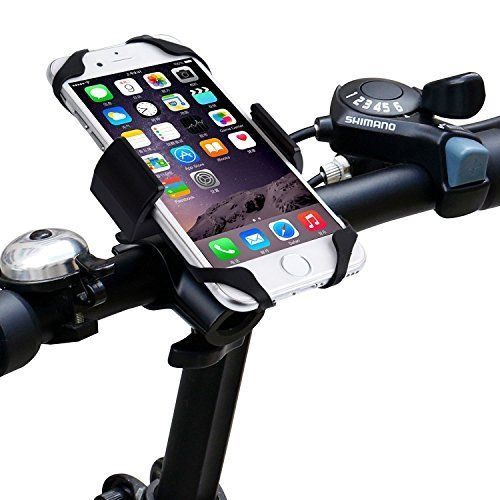 Impfunical Bike Phone Mount Bicycle Holder Adjustable Cell Phone