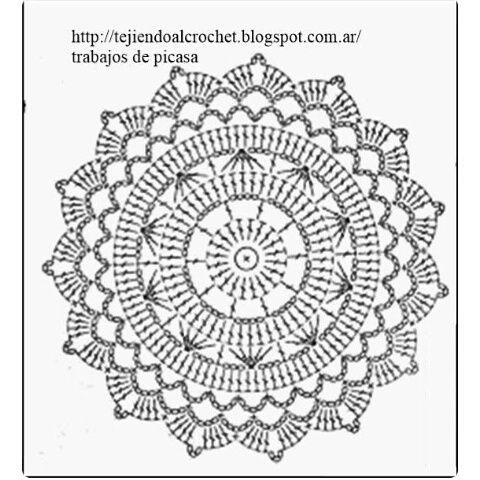 Crochet together with Motivos Circulares A Crochet in addition Graficos Crochet also Templates besides Crochet Charts. on crochet circle charts
