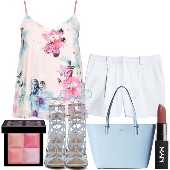 19 by vicinogiovanna on Polyvore featuring moda, Dorothy Perkins, Canvas by Lands' End, Kate Spade and Givenchy: