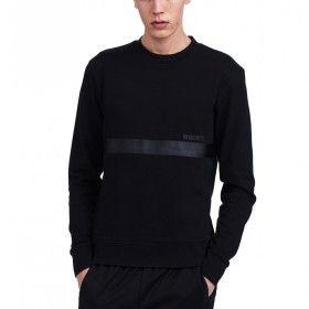 Wood Wood Troy sweatshirt black-men