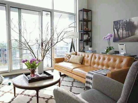 Bán sofa da thật tphcm và bài trí nội thất hợp phong thủy cho gia chủ cung Song Tử