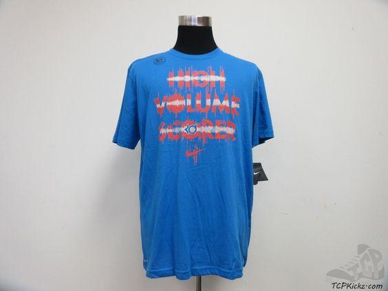 Men's Apparel : Nike Air Dri Fit KD High Volume Scorer Shirt #Nike #tcpkickz