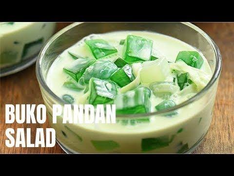 Buko Pandan Salad Recipe Filipino Desserts Desserts Buko Pandan Recipe