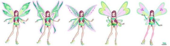 Roxy in Different Transformations