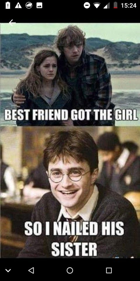 Harrypotter Ron Hermione Relationships Memes Funny Movies Funny Harry Potter Jokes Harry Potter Quotes Funny Funny Memes