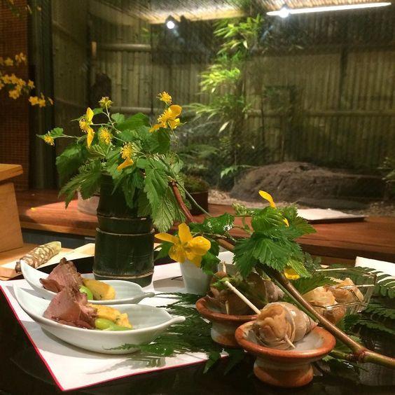 Amaizing! #kaiseki #flower #japanesefood by fabulous_s