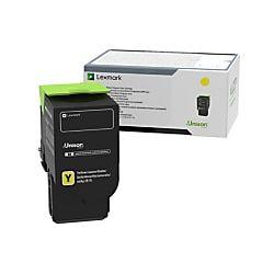 Lexmark 78c0u40 Ultra High Yield Yellow Toner Cartridge Toner