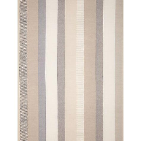 Buy john lewis refined puritan stripe fabric grey online for Buy curtain fabric online