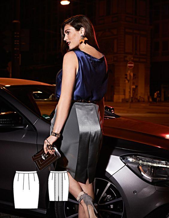 Skirt Burda plus  12/14 138