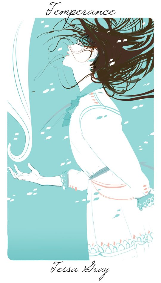 Cassandra Jean's virtues and vices series: Tessa, representing temperance - temperance being moderation and restraint.