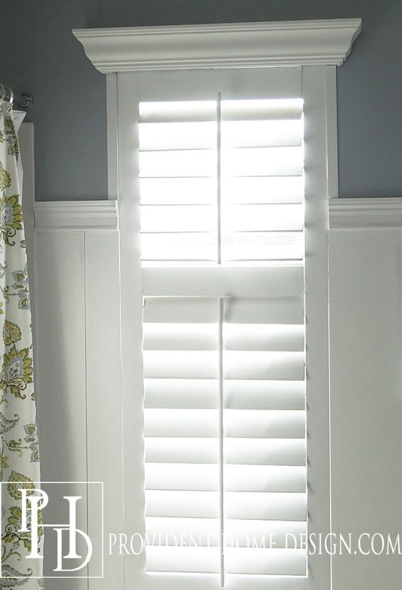 Diy plantation shutters bedroom windows the two and - Shutters for decoration interior ...