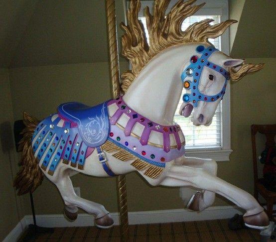 Illions copy, great horse