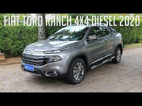 Avaliacao Fiat Toro Ranch 4x4 Diesel 2020 Youtube Em 2020