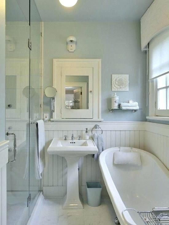 Bathroom Ideas For Small Cottage Eclectic Bathroom Beadboard