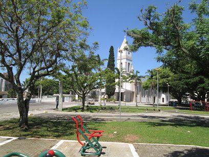 Praça Santa Bárbara -Criciuma SC. Google Maps