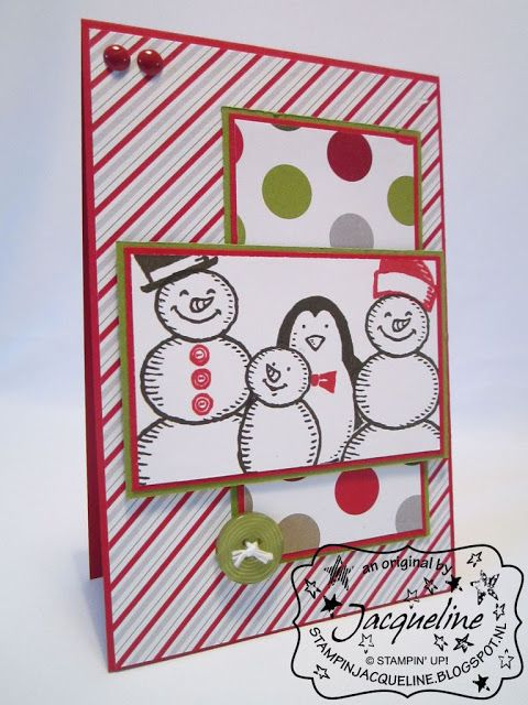 Stampin' Up! by Stampin Jacqueline: Familiefoto met Snow Place