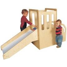 Ok...so another climber/loft/indoor gross motor contraption to ...