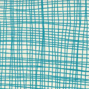 Sea & Sky  Weave Seafoam from the Summersville fabric collection designed by Lucie Summers for Moda