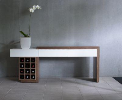 Modern White Sofa Table | Modern Console Table Decor | Ideas for the House  | Pinterest | White sofa table, Modern console tables and White sofas