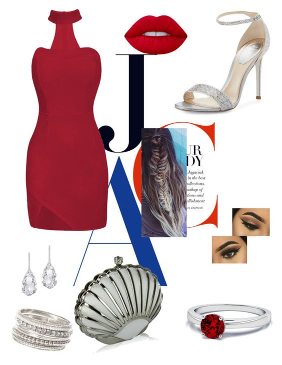"""Untitled #268"" by fashionweekgals on Polyvore featuring René Caovilla, Lime Crime and Plukka"