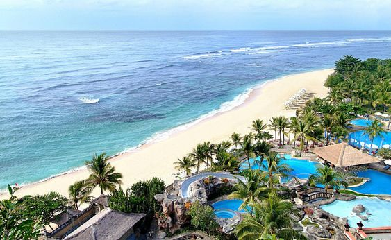 Bali has many parts to it even a a place for the beach goers