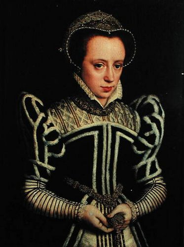 Mary, Queen of Scots -you can almost see that she is use to be hated and refused. Father Henry VIII