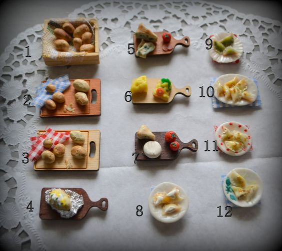 Food miniatures