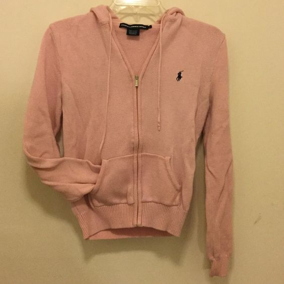 Light pink Ralph Lauren Hoodie Excellent used condition Ralph Lauren Jackets & Coats