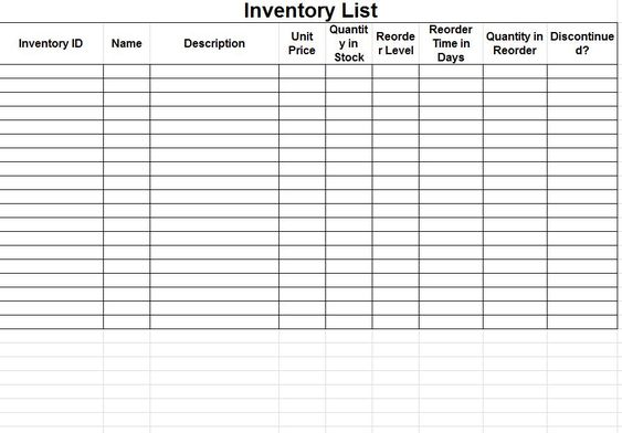 BUSINESS EXCEL Template Profit Loss Inventory Expense by Pixel26 - profit loss statement