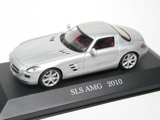 Mercedes Benz Sls Amg C197 Coupe 2010 Year 1 43 Scale Diecast