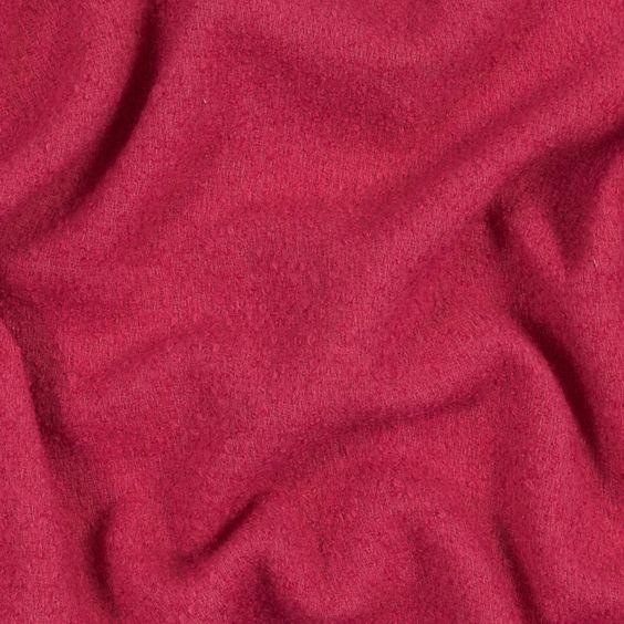 Holly Berry Loosely Woven Wool Boucle-319887-11