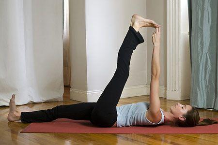 supta hasta padangustasana  yoga  pinterest  big toe